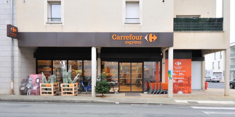 carrefour express la madeleine. Black Bedroom Furniture Sets. Home Design Ideas