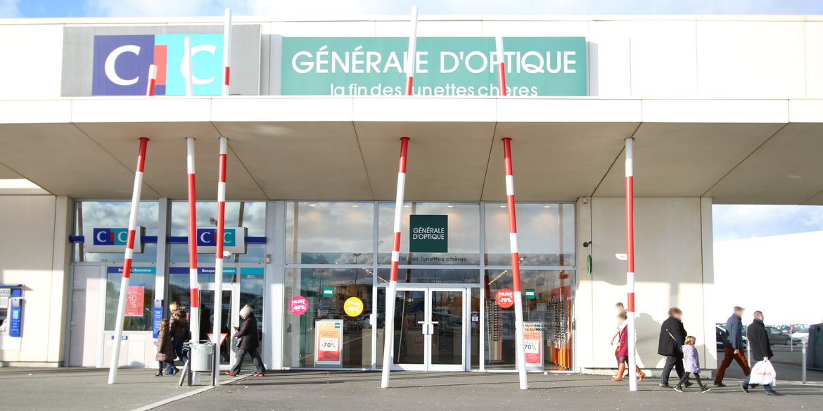 Finest gnrale duoptique poitiers sud with auchan sud poitiers for Auchan poitiers porte sud