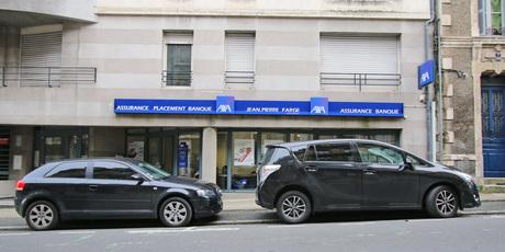Axa Poitiers Farge