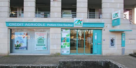 Crédit Agricole Poitiers Clos Gaultier