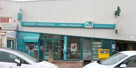 Crédit Agricole Poitiers Gibauderie