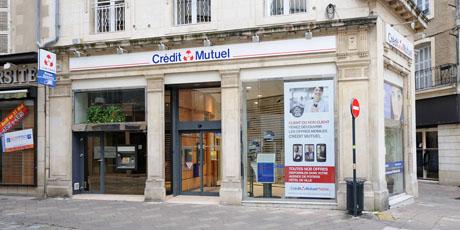 Crédit Mutuel Poitiers Hôtel de Ville