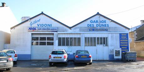 Garage des Dunes