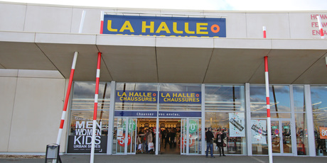 La Halle aux Chaussures Poitiers Fontaine