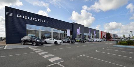 Peugeot Poitiers SCAP