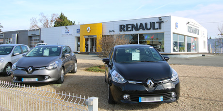 Renault poitiers for Garage renault bouc bel air